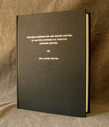 dissertation hardcover bindung